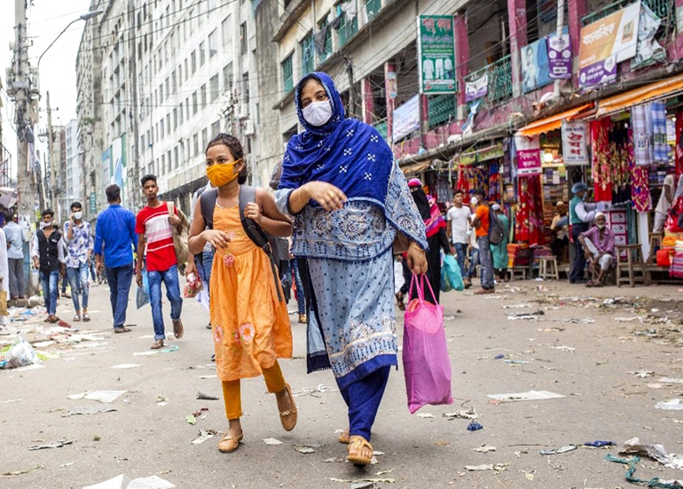 Bangladeş'te Covid-19 vaka sayısı 350 bini aştı