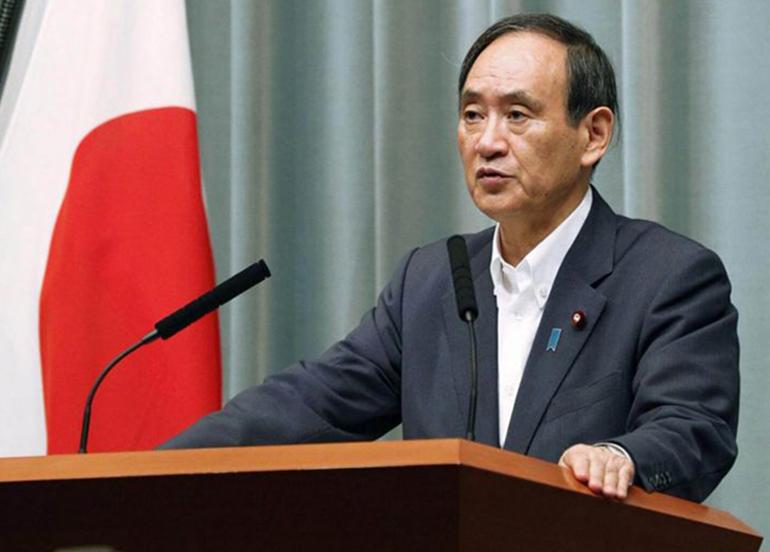 Japonya Başbakanı Suga'dan aşı açıklaması