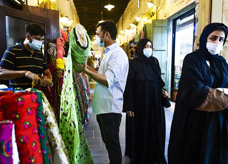 Katar'da 227 yeni korona virüs vakası daha tespit edildi