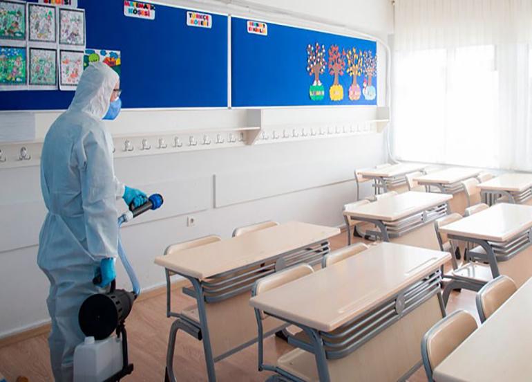 Karabük'te okullarda koronavirüs şoku