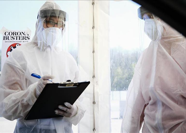 Almanya'da 5 bin 132 yeni korona virüs vakası görüldü