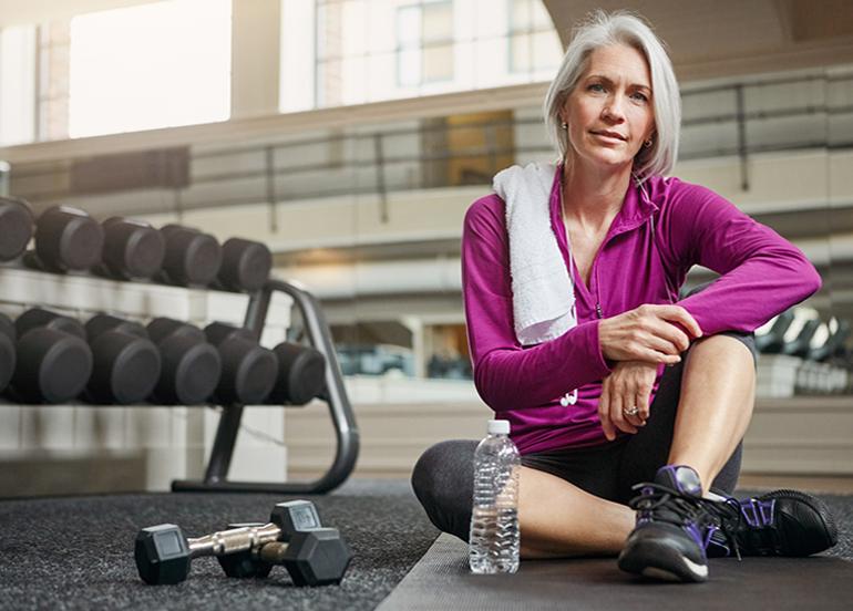 Menopozu sağlıklı geçirmek için egzersiz şart