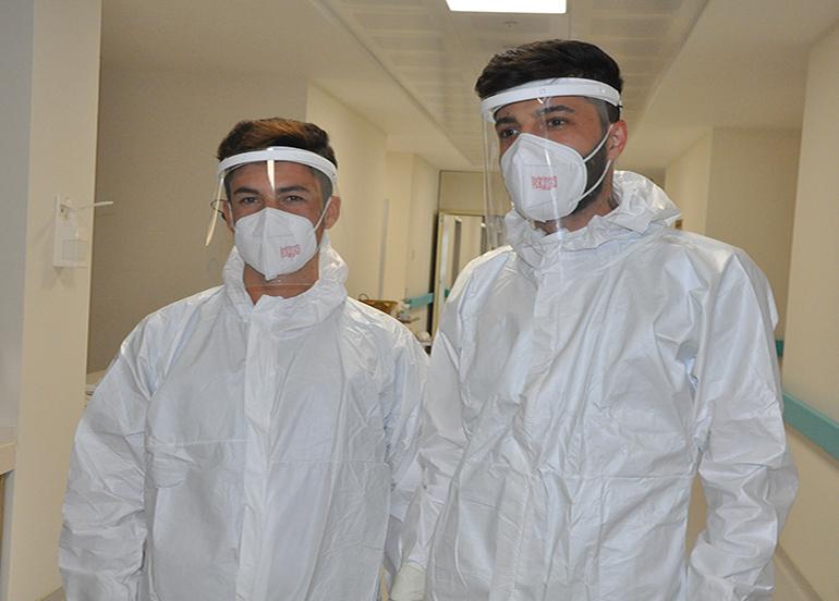 Şırnak'ta korona virüsün fedakar çalışanlarından vatandaşlara 'Tedbirlere uyun' uyarısı