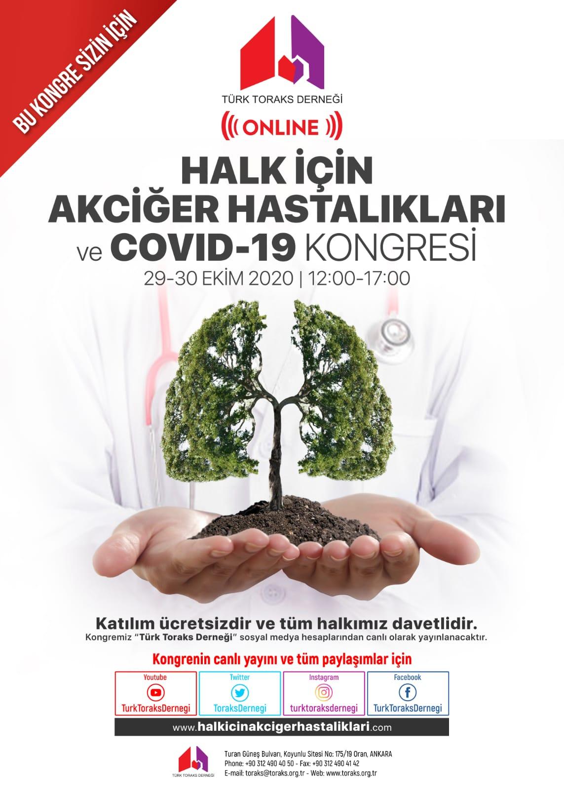 Türk Toraks Derneği Halk Kongresi için geri sayım başladı