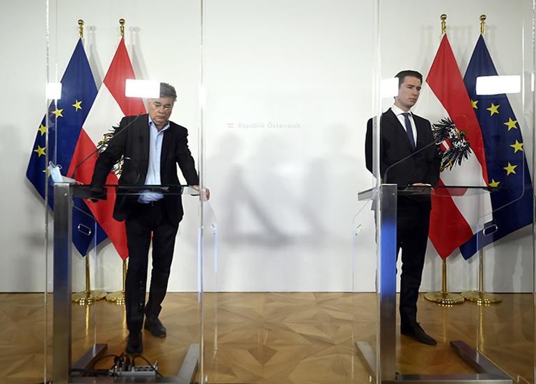 Avusturya'da 3 haftalık karantina kararı
