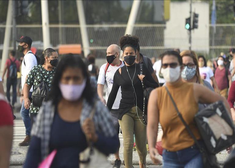 Brezilya'da son 24 saatte korona virüsten 138 kişi yaşamını yitirdi