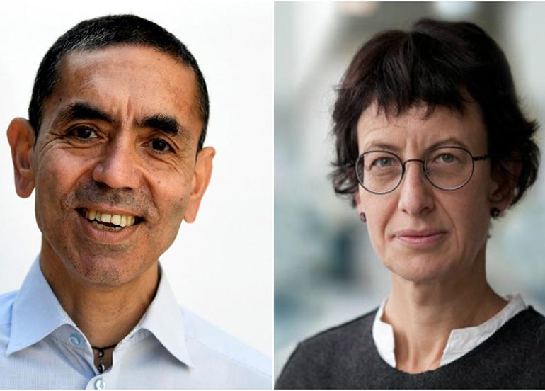 BioNTech: Türeci ve Şahin'in kişisel hesapları yok