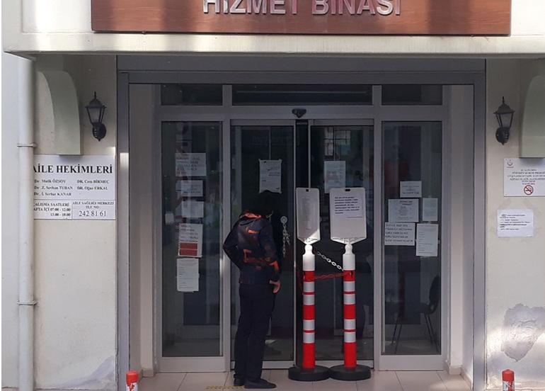 Bursa'da aile sağlığı merkezi 7 gün süreyle karantinaya alındı