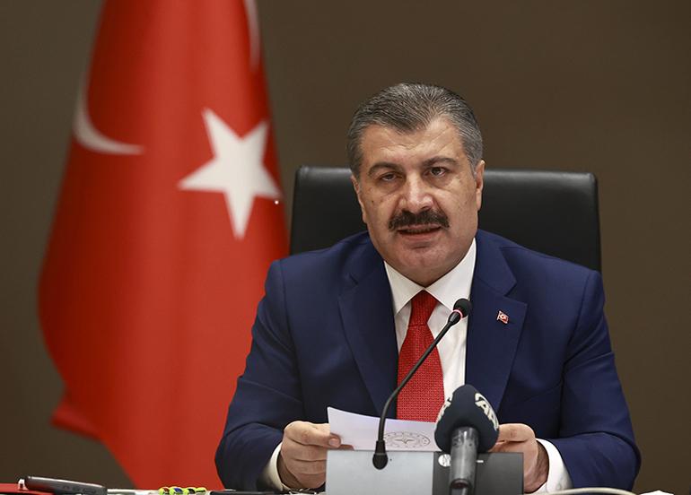 Bakan Koca Türkiye'ye verilecek olan korona virüsü aşısı miktarını açıkladı