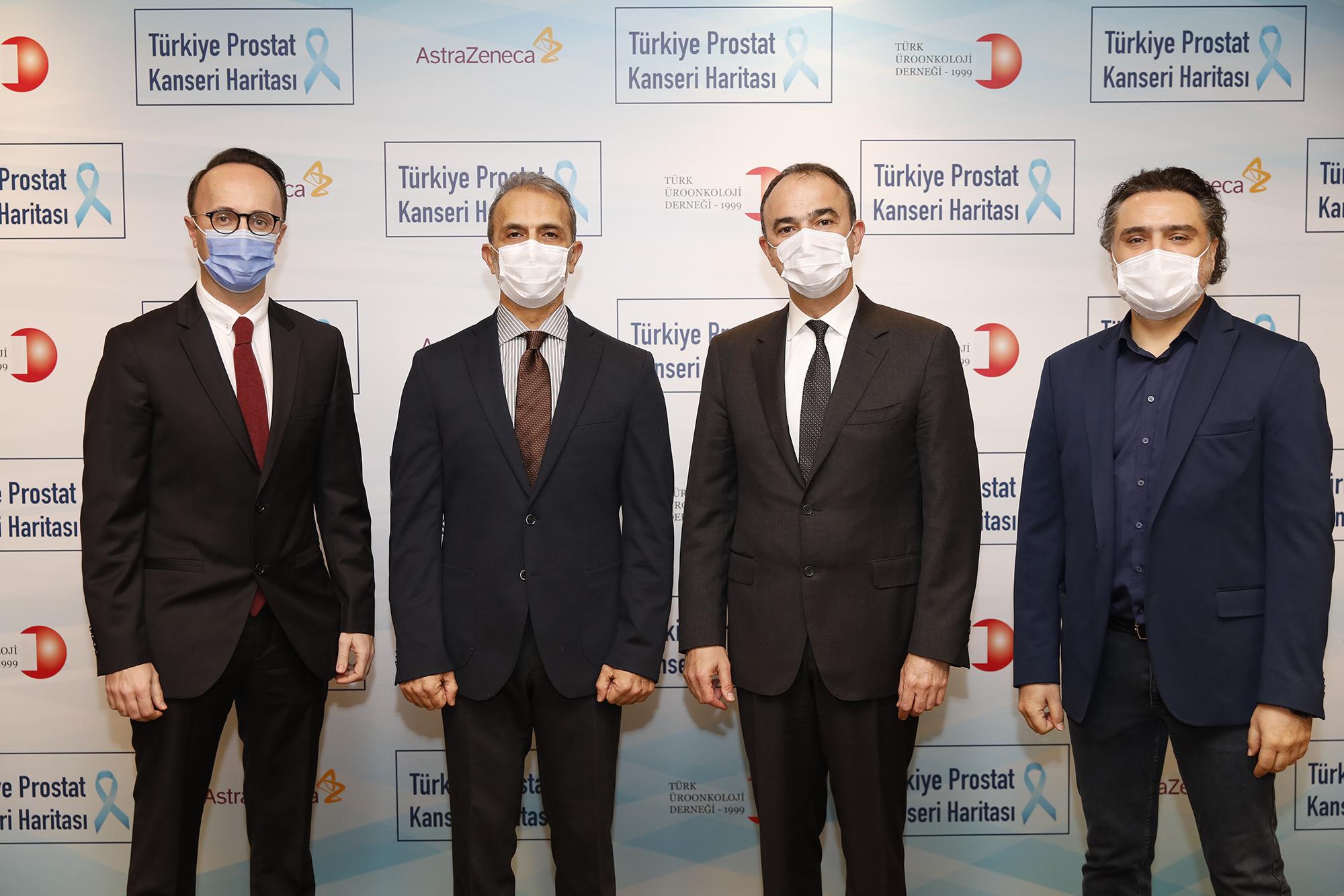 """""""Türkiye Prostat Kanseri Haritası"""" başlıklı rapor açıklandı:  """"Prostat kanseri erkeklerde en sık görülen ikinci kanserdir"""""""