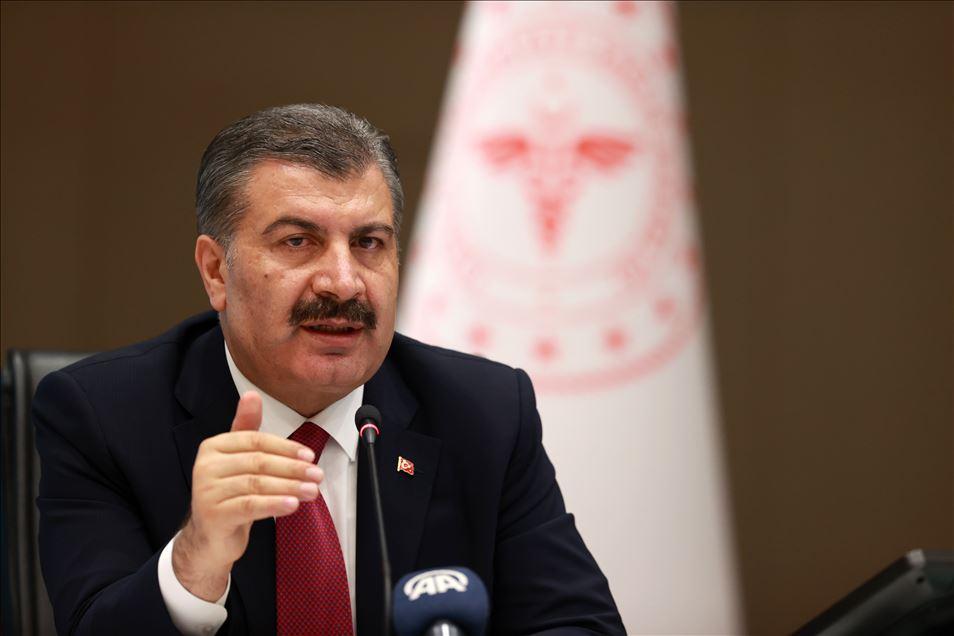 Bakan Koca Mersin, Diyarbakır, Trabzon, Antalya ve Kocaeli illerinin verilerini paylaştı