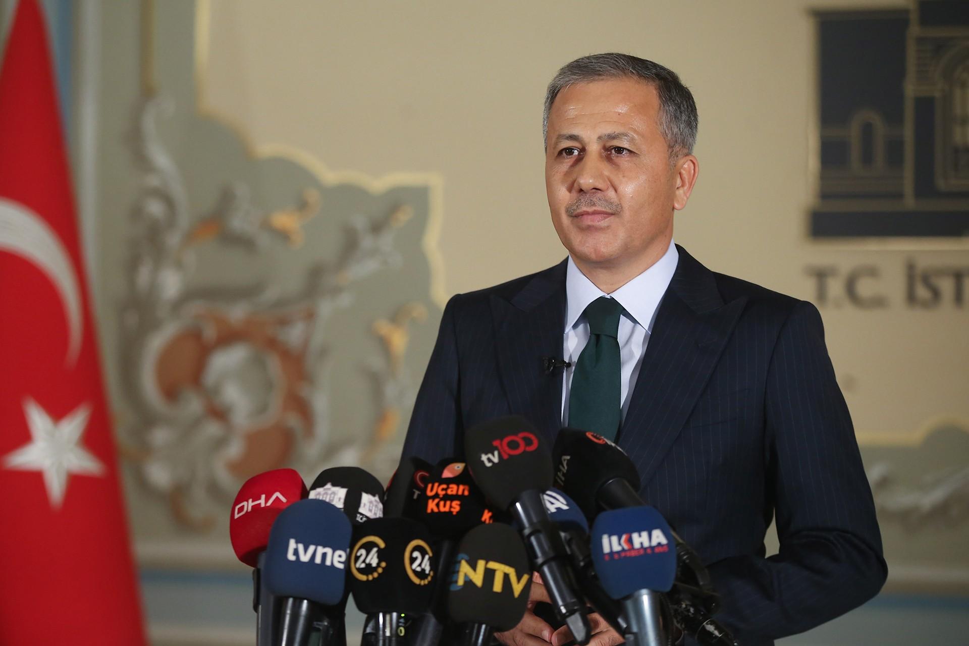 İstanbul Valisi Ali Yerlikaya: Vaka sayısı yüzde 40 düştü