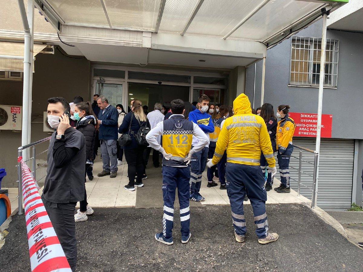 Son dakika: İstanbul'da özel hastanede yangın çıktı
