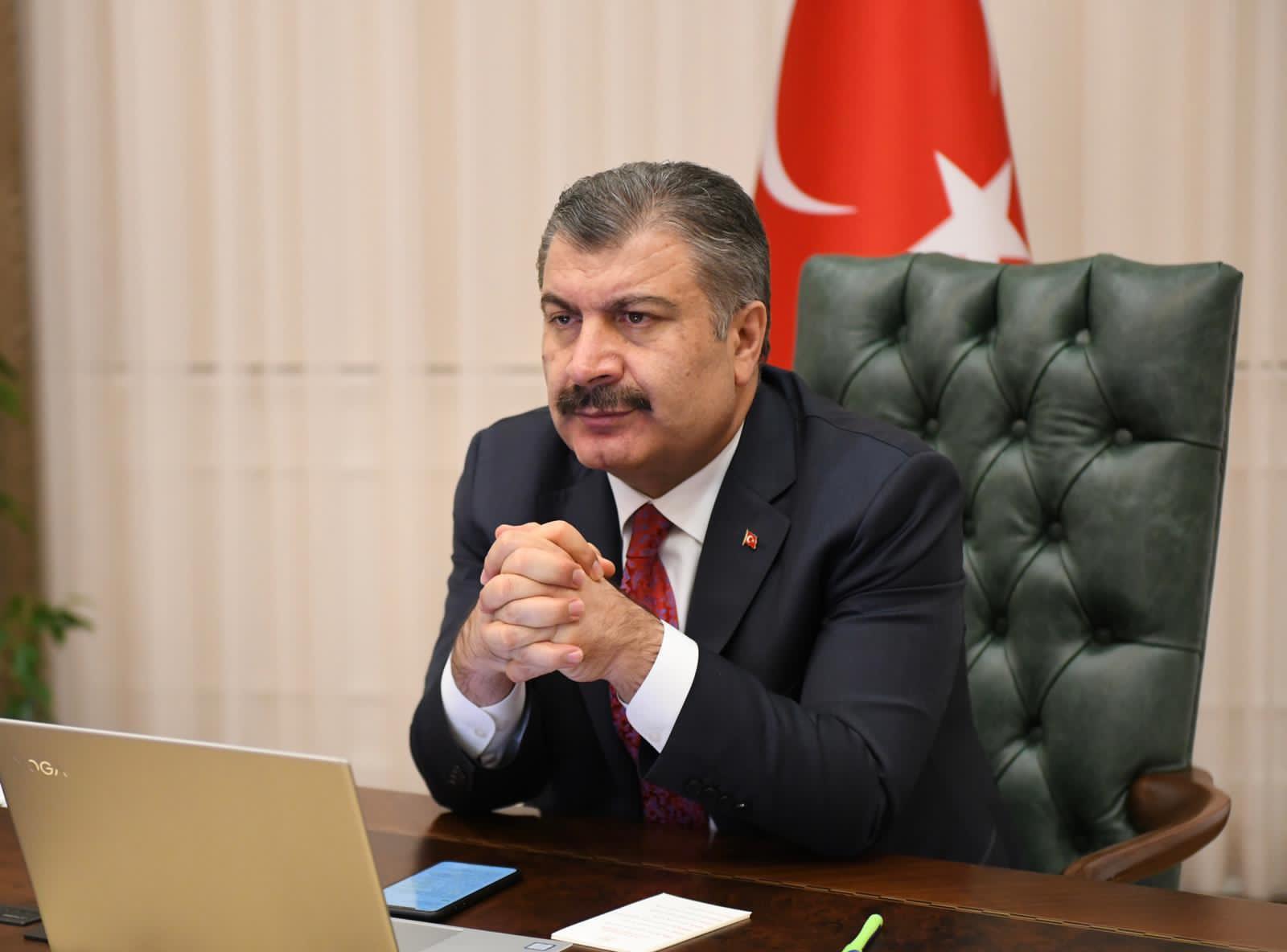 Sağlık Bakanı Koca: Korona virüsü aşısı sonuçları anlık ve canlı olarak paylaşılacaktır