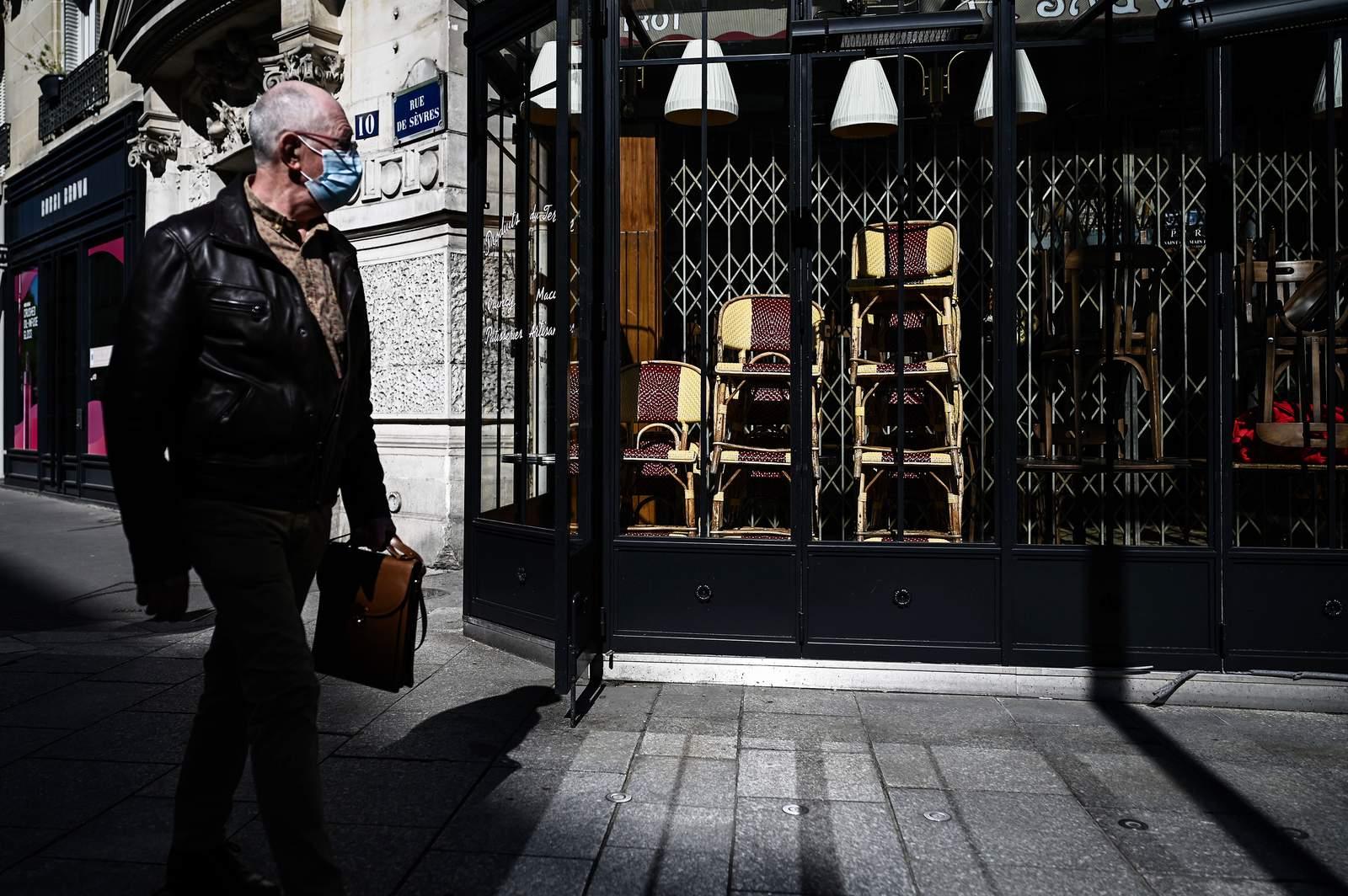 Fransa'da korona virüs salgınında son 24 saatte 25 bin 379 yeni vaka