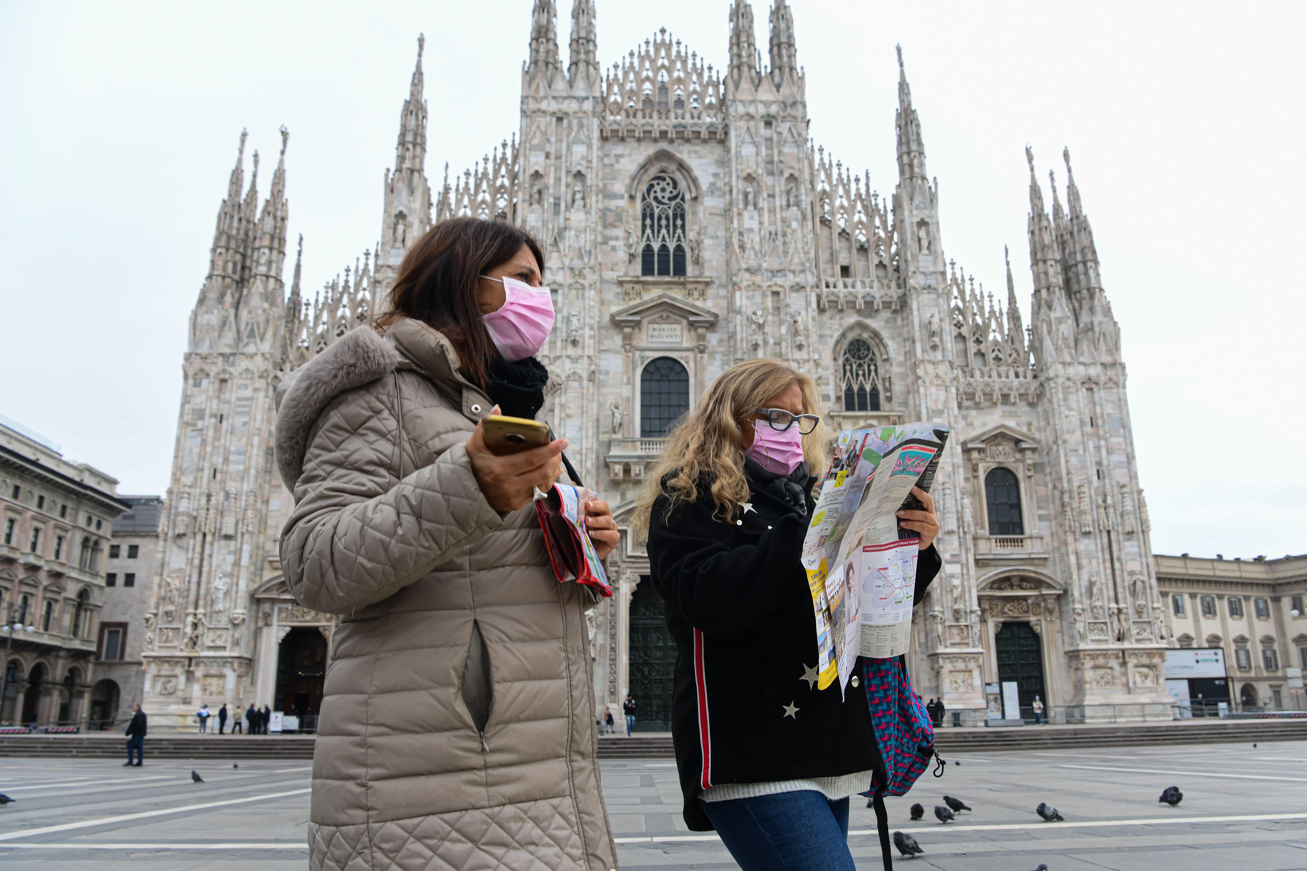 İtalya'da son 24 saatte korona virüs nedeniyle 477 kişi hayatını kaybetti