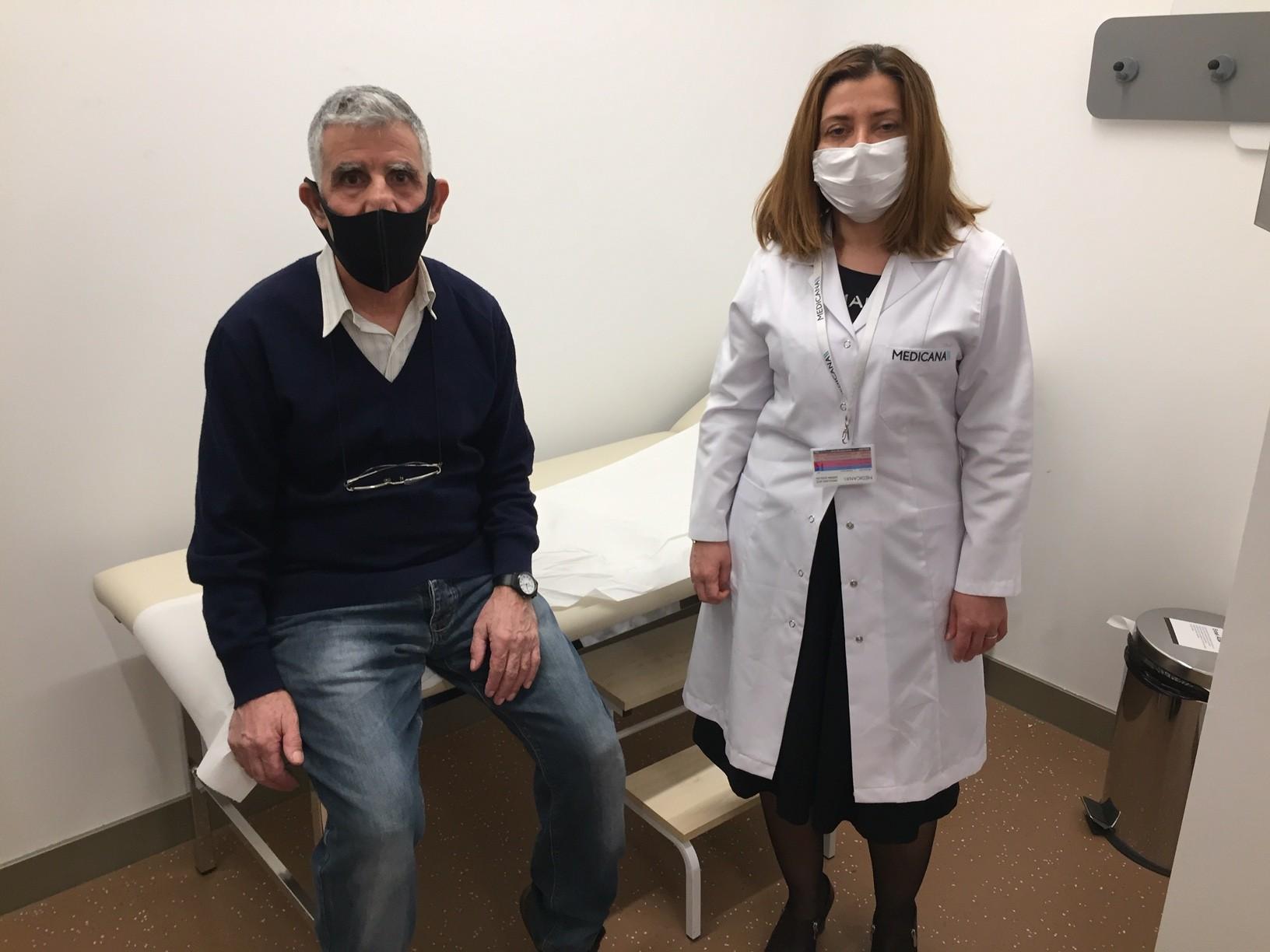 Korona geçirdikten 2 hafta sonra felç oldu