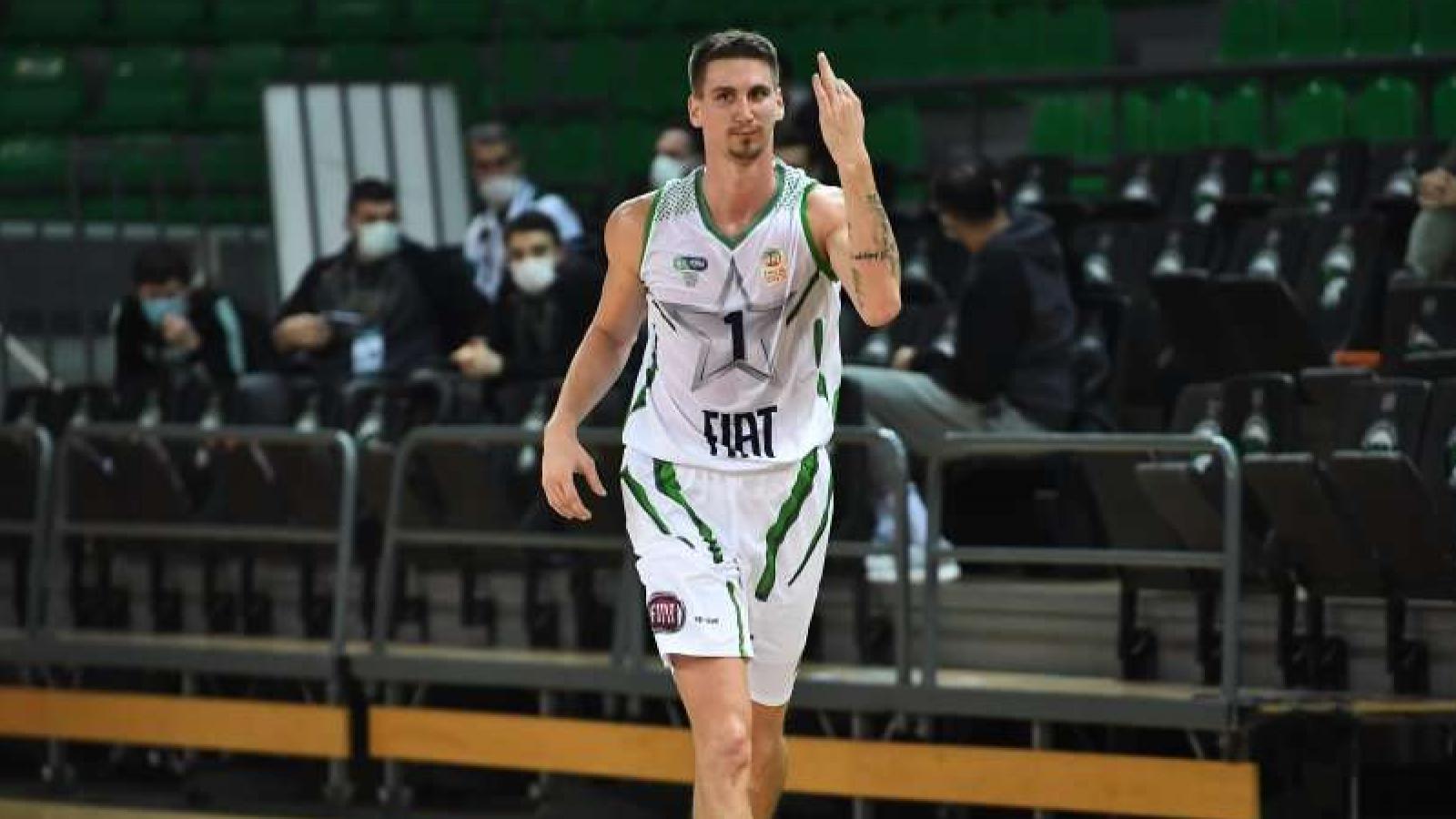 TOFAŞ'ta Hırvat basketbolcu Zubcic sakatlığı nedeniyle en az 4 hafta sahalardan uzak kalacak
