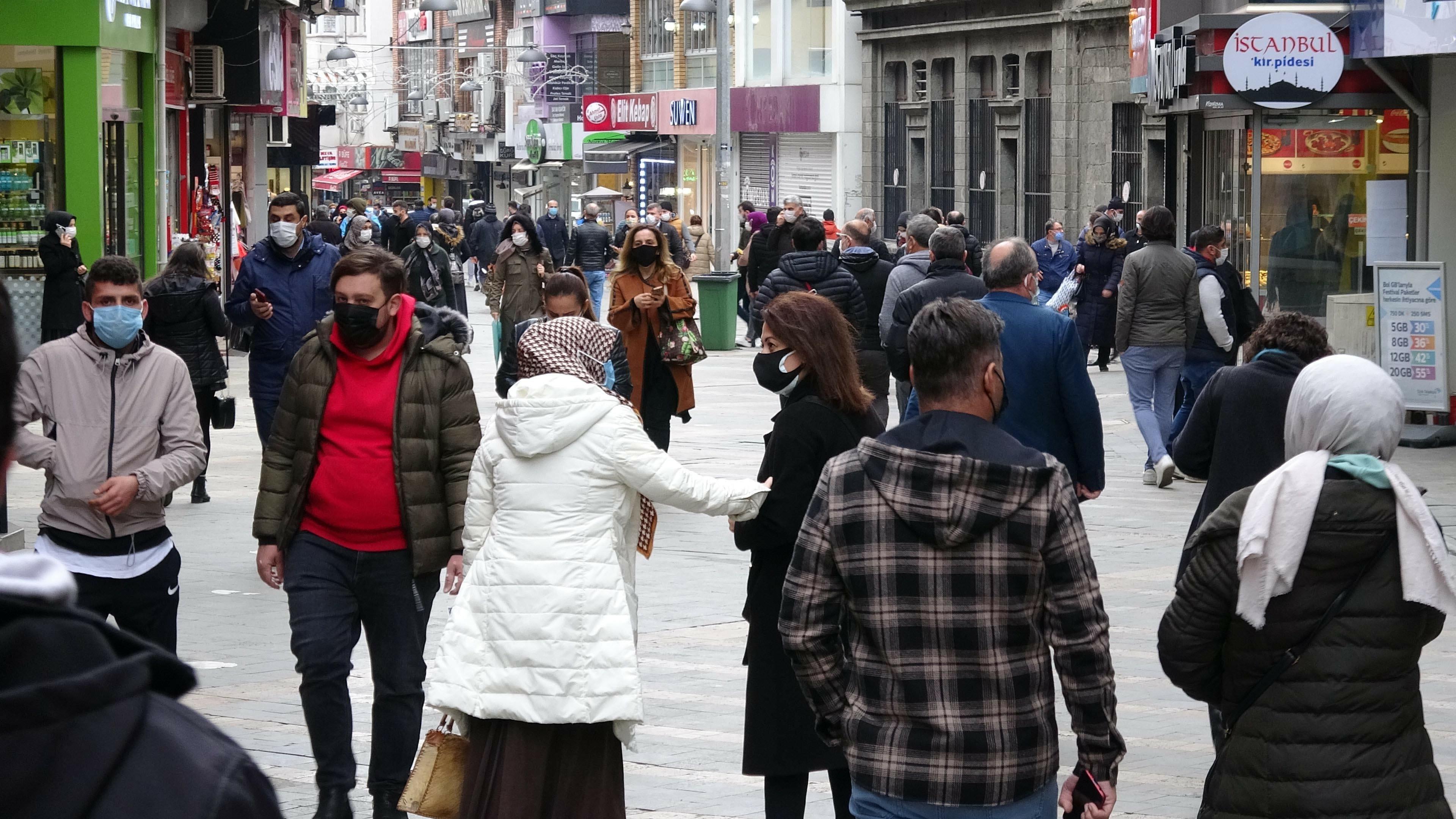 Trabzon'da Covid-19 vakalarında tekrar artış yaşanıyor