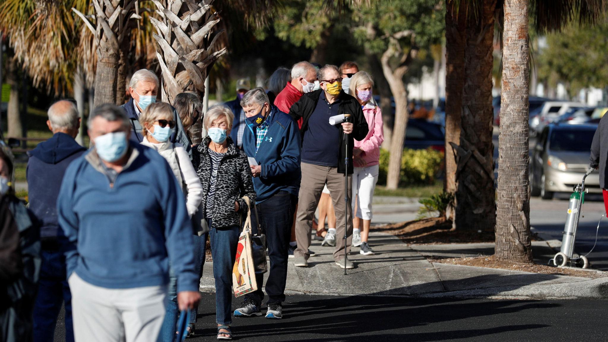 ABD'de toplam korona virüs vaka sayısı 28.5 milyonu aştı