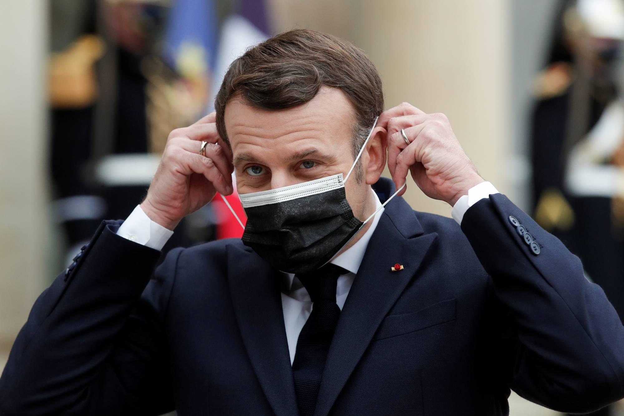 Fransa Cumhurbaşkanı Macron'dan Afrika için korona aşısı çağrısı