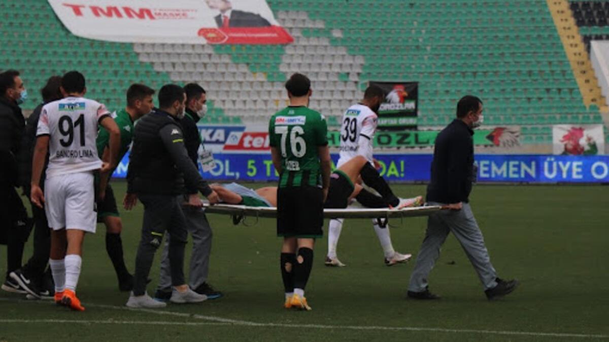 Denizlispor'da Ahmed Yasin şoku! 7 ay sahalardan uzak kalacak