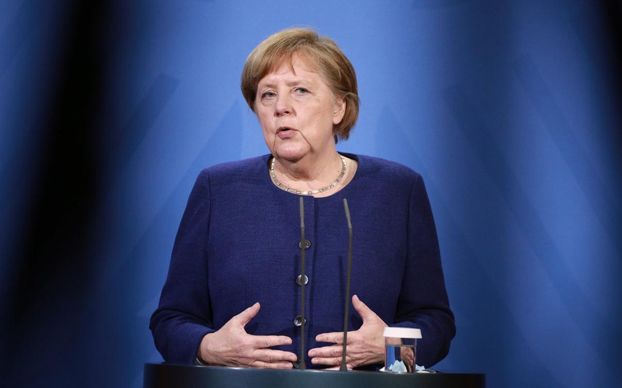 Almanya Başbakanı Merkel, Covid-19 kısıtlamalarını Paskalya tatiline kadar uzatmayı planlıyor