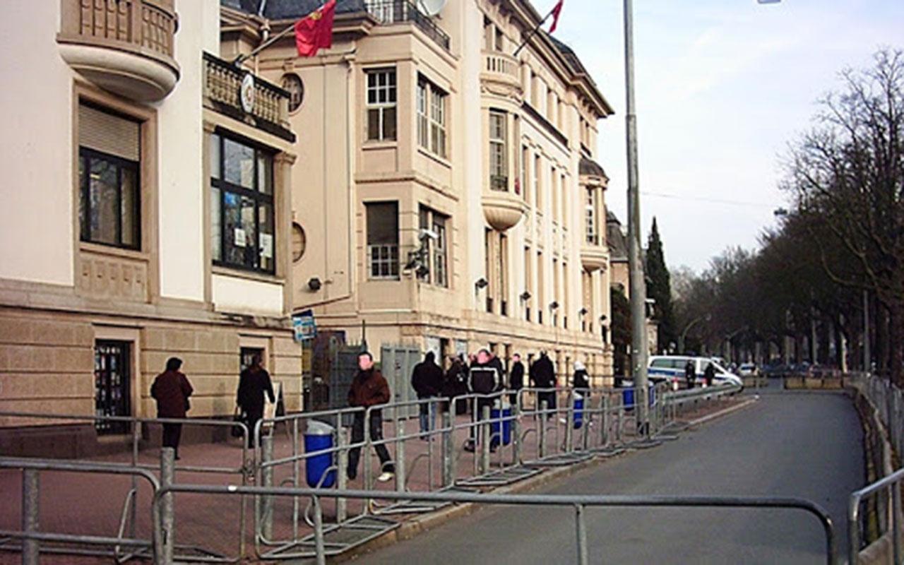 Frankfurt Başkonsolosluğu'nda korona paniği