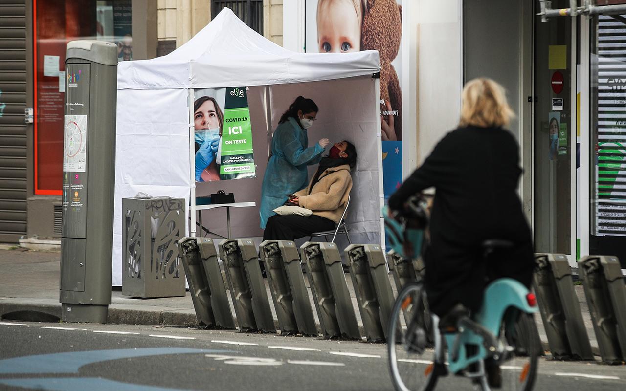 Fransa'da Ekim'den bu yana en yüksek günlük vaka sayısı