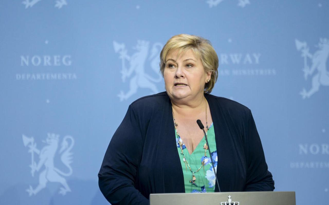 Norveç Başbakanı Solberg'e Covid-19 kısıtlamalarını ihlalden soruşturma