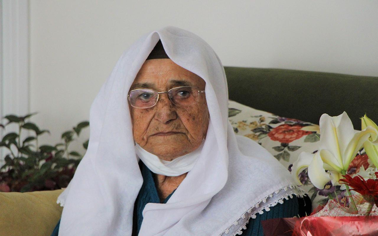 Korona virüs 119 yaşındaki Şeker nine'yi teğet geçti