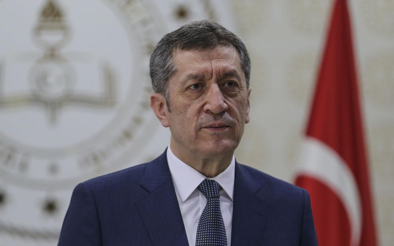 Milli Eğitim Bakanı Selçuk'tan yüz yüze eğitim açıklaması