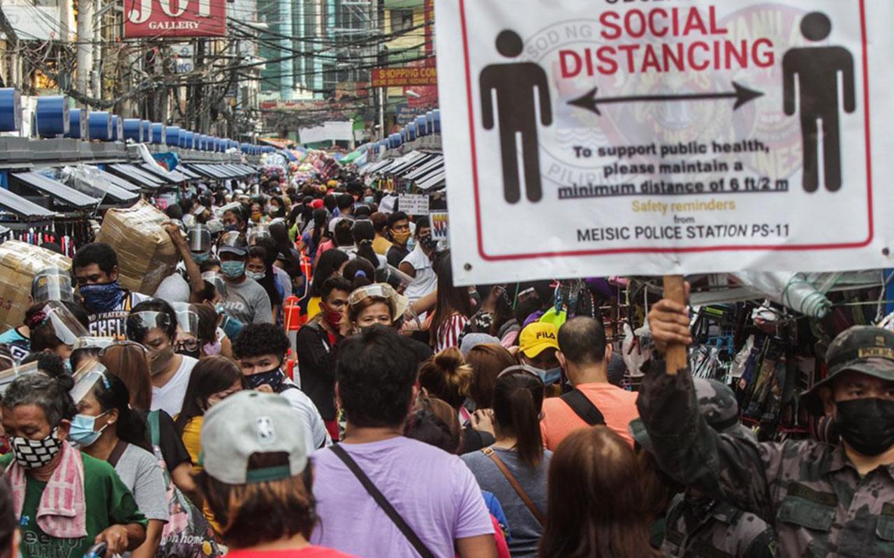 Filipinler'de günlük korona vaka sayısında 2 gün üst üste rekor kırıldı