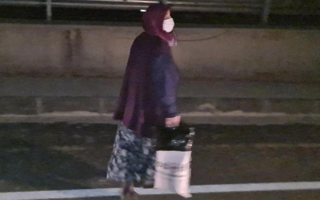 Korona hastası kadın kaçırıldığını zannetti, ortalık karıştı