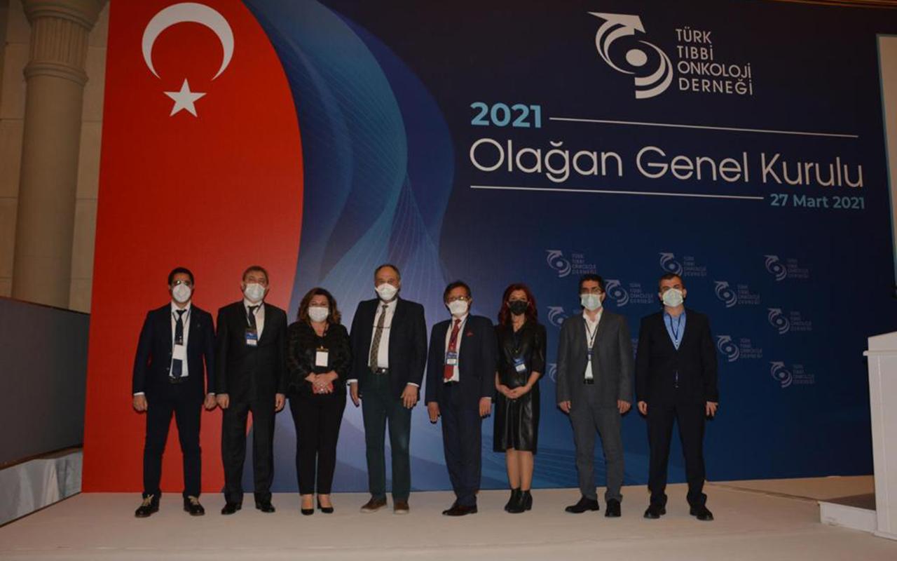 Türk Tıbbi Onkoloji Derneği gelecek dönem başkanını seçti