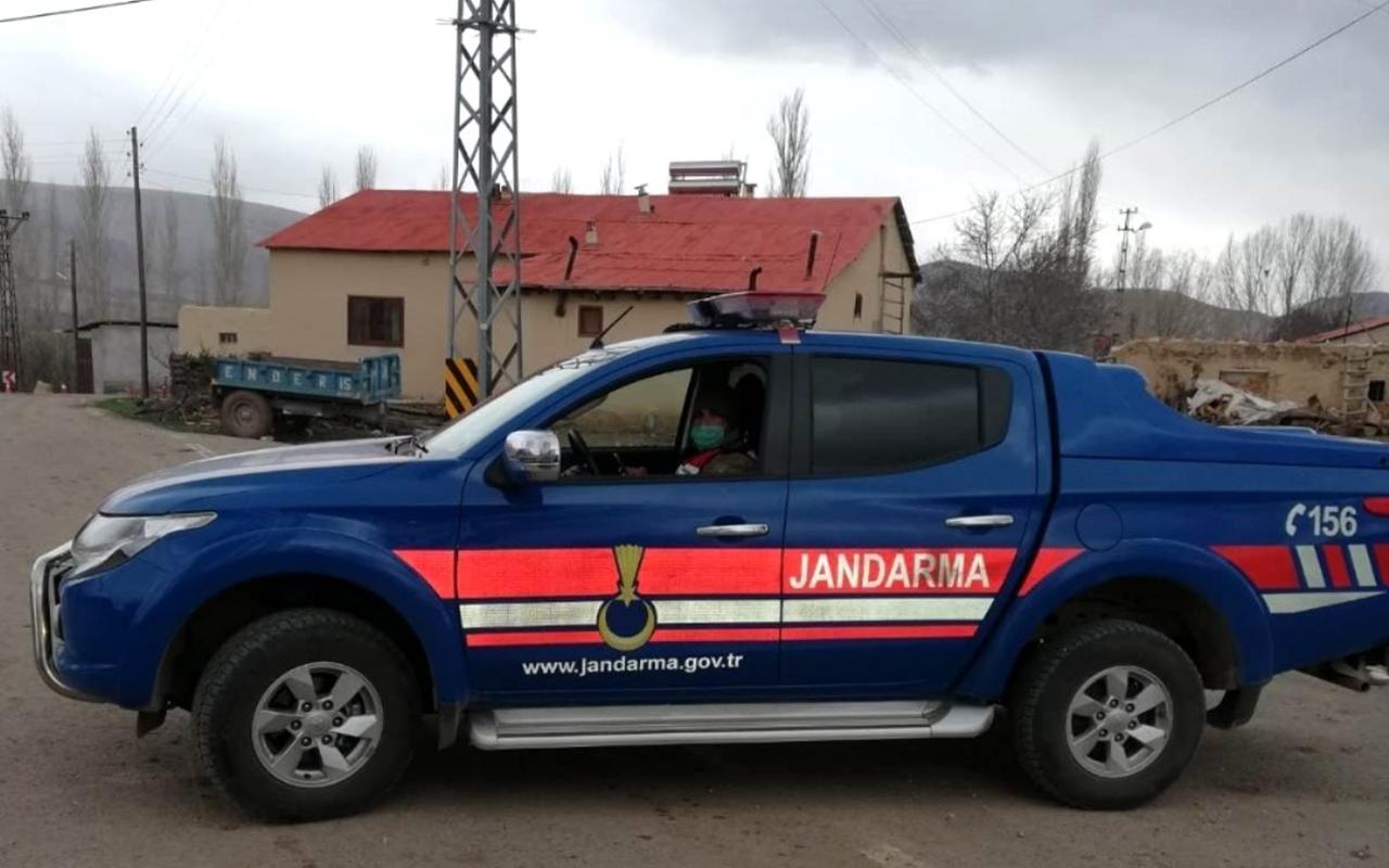 Sivas'ta bir köy karantina altına alındı