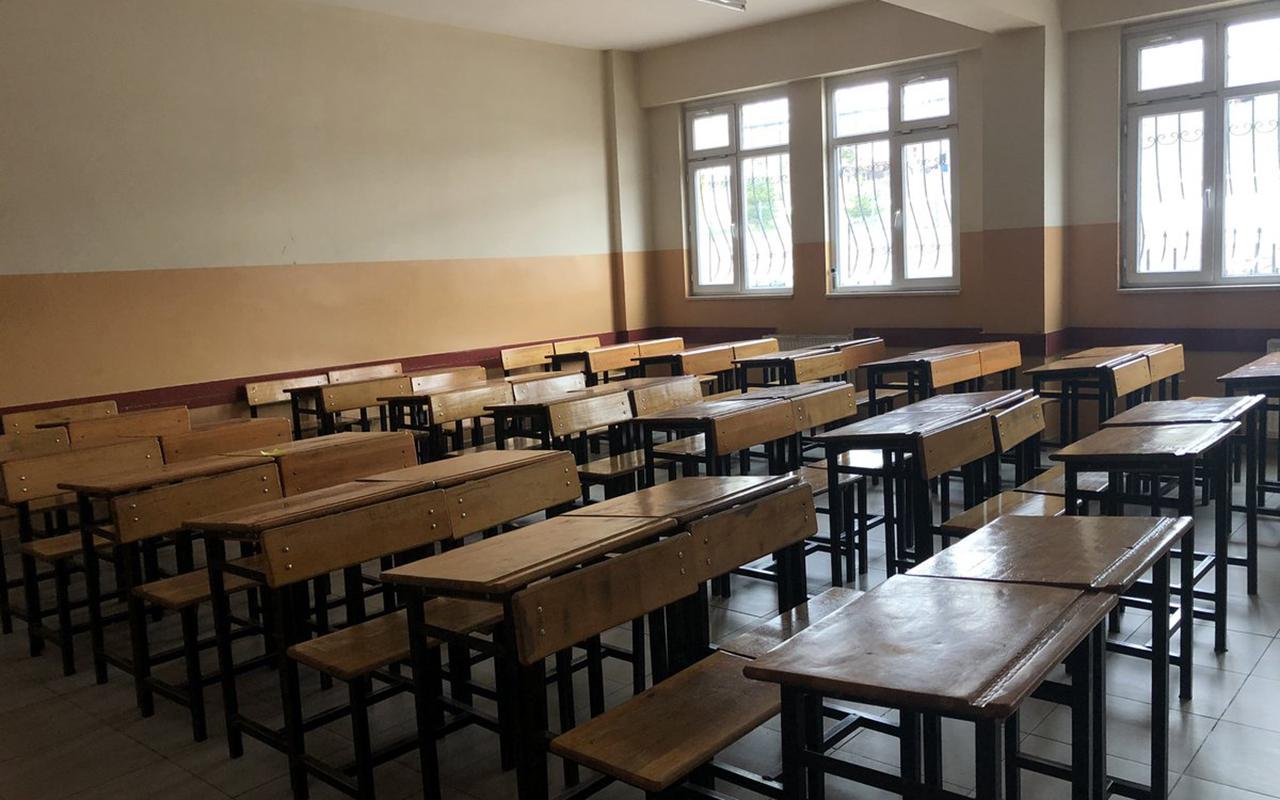 1 öğrencide virüs tespit edilince örgün eğitime 9 gün ara verildi
