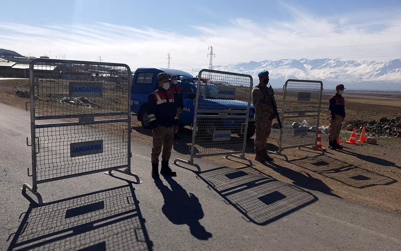 Erzincan'da 1 köy ve TOKİ konutları karantinaya alındı
