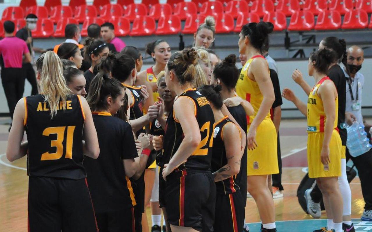 Galatasaray Kadın Basketbol Takımı'nın maçı, korona virüs vakaları nedeniyle ertelendi