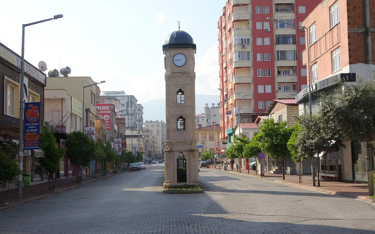 Kısıtlamada sessizliğe bürünen Osmaniye'de vakalar artıyor