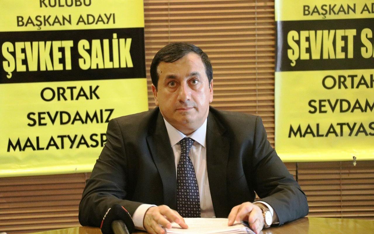 Yeni Malatyaspor başkan adayı Şevket Salik, koronaya yenildi