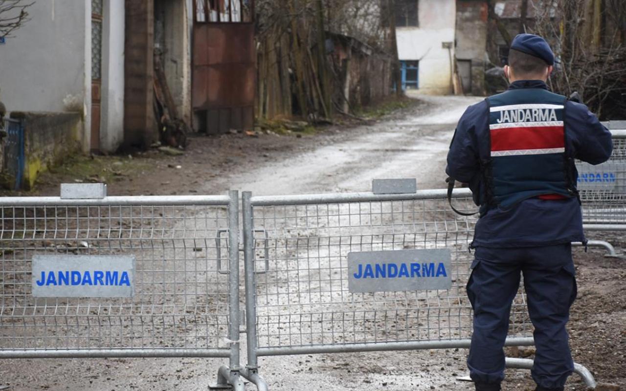 Kastamonu'da iki köy karantinaya alındı, bir okulda eğitime ara verildi