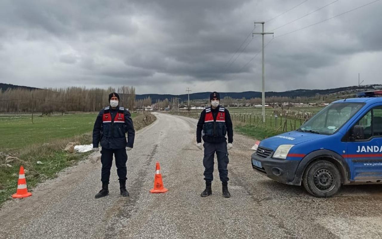 Kütahya'da bir köy daha karantina altına alındı