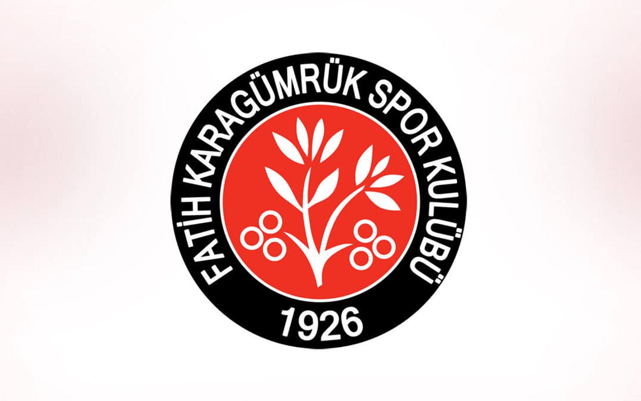 Fatih Karagümrük'te 6 futbolcunun Covid-19 testi pozitif çıktı