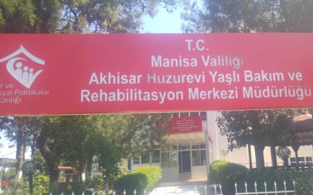 Manisa'da bulunan bir Yaşlı Bakım ve Rehabilitasyon Merkezi karantinaya alındı