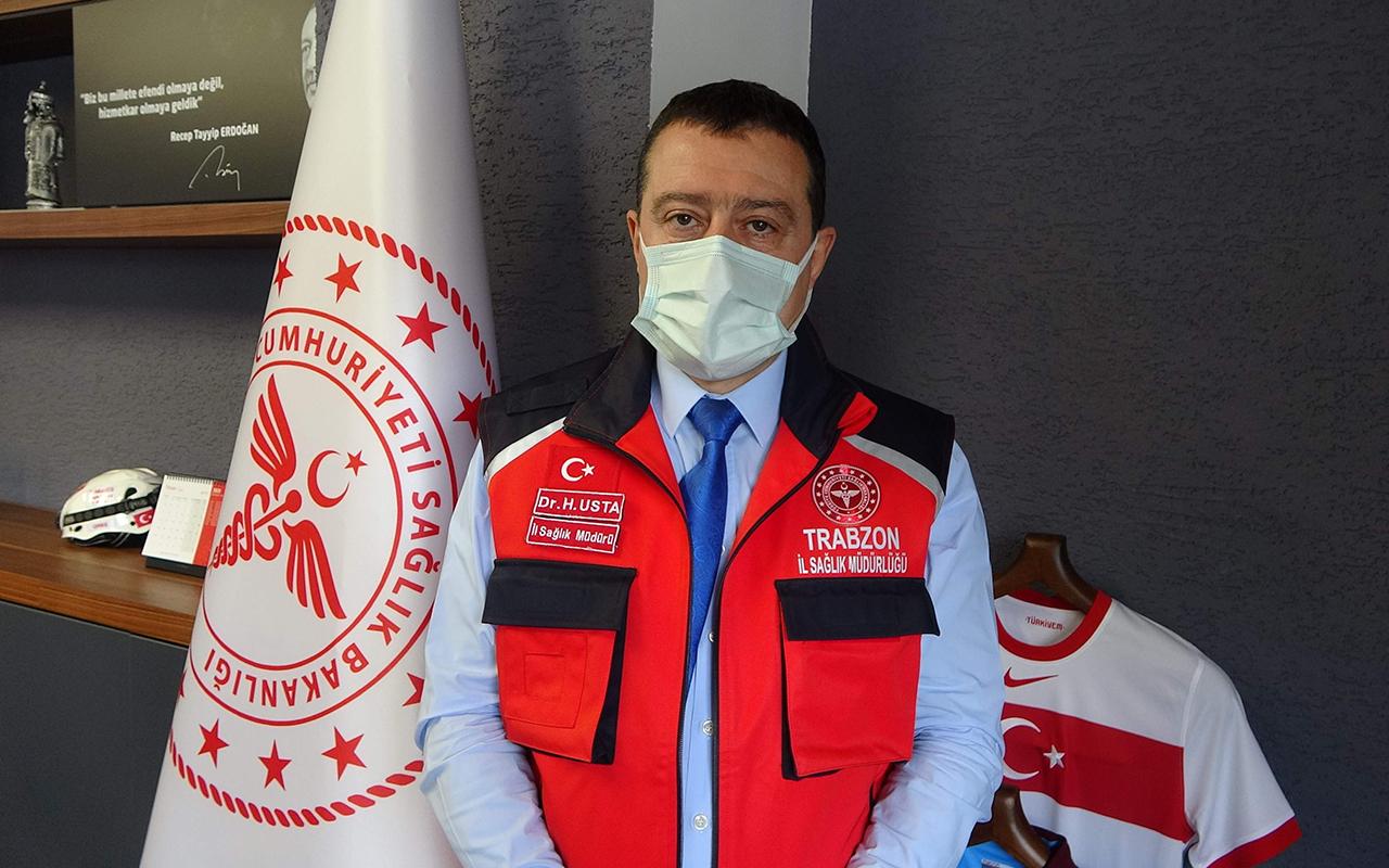 Trabzon İl Sağlık Müdürü Usta: