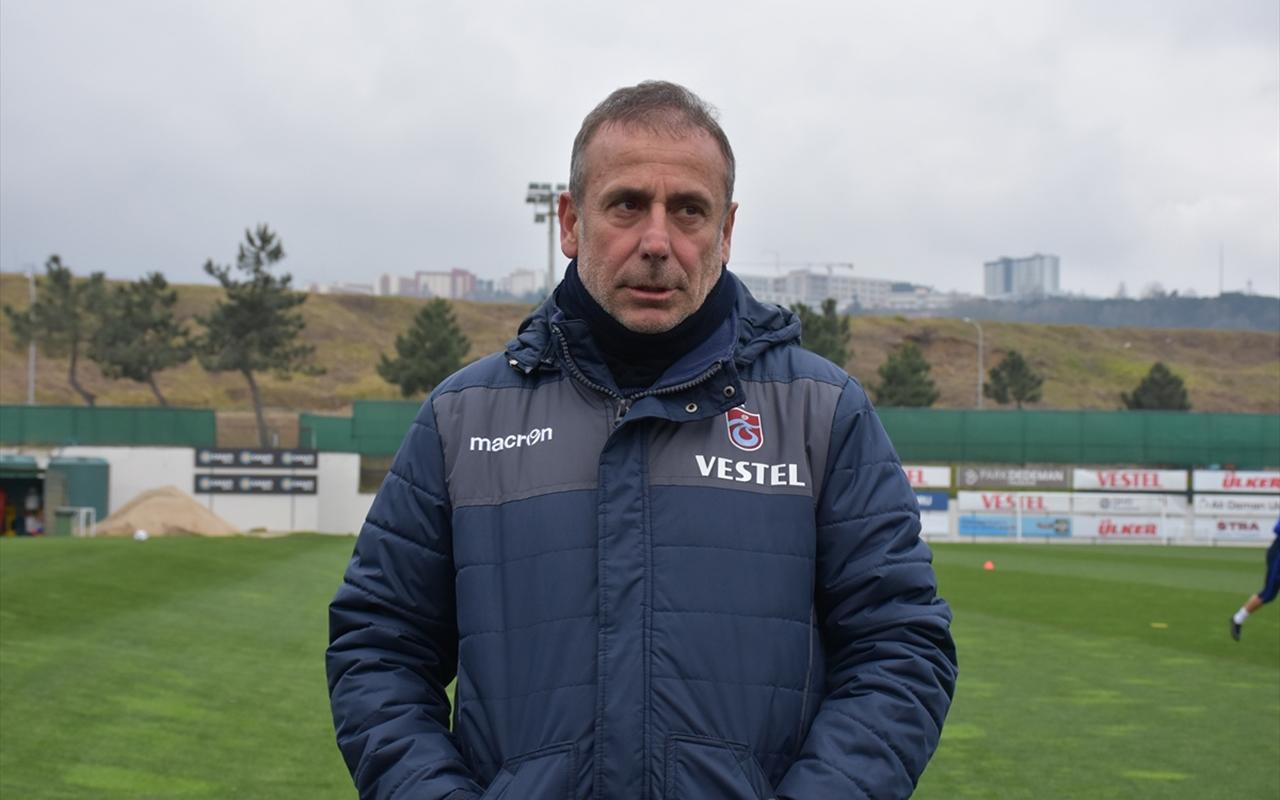 Trabzonspor'da Abdullah Avcı rahatsızlandı