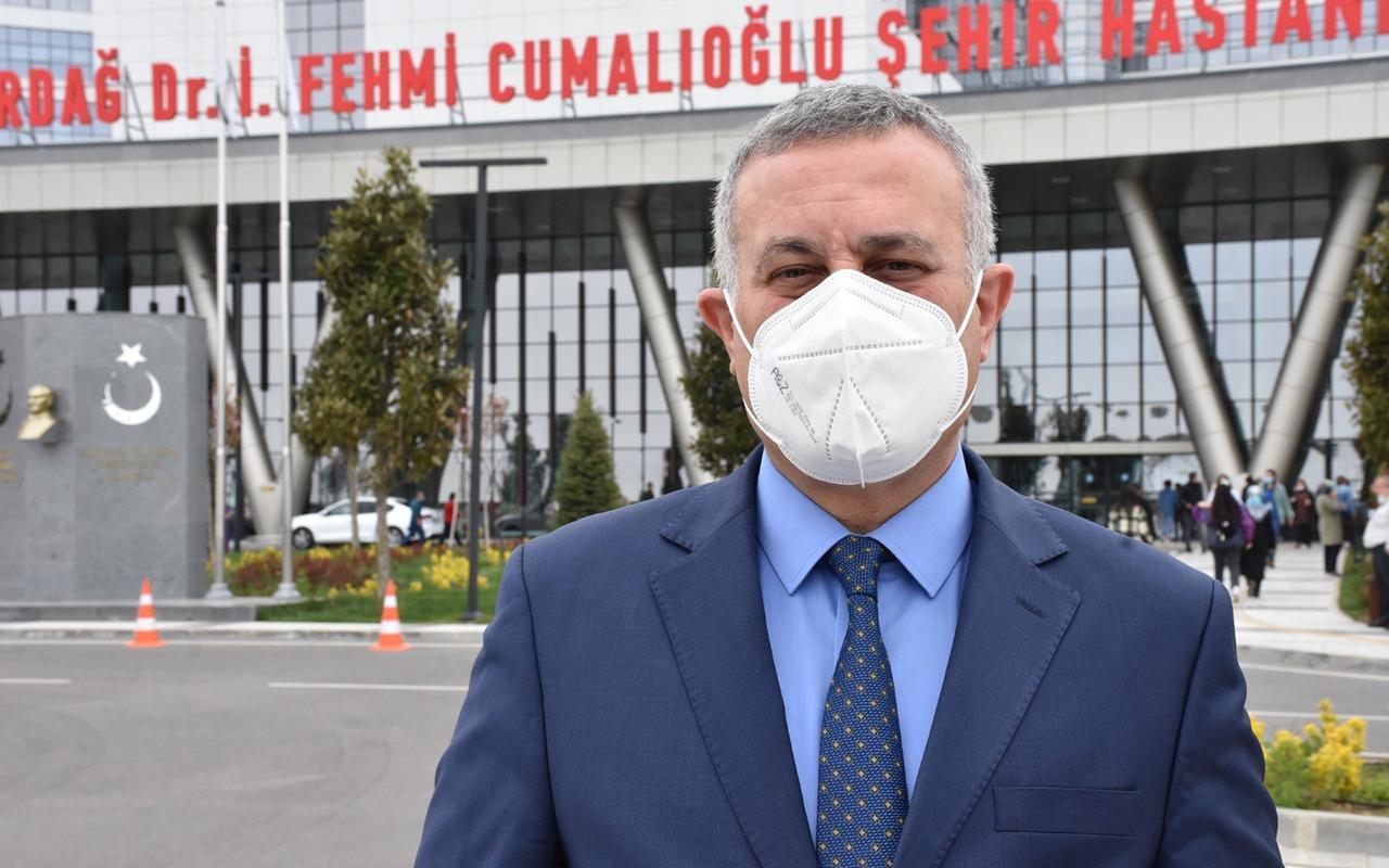 Vaka oranıyla İstanbul ile yarışan Tekirdağ'ın İl Sağlık Müdürü konuştu
