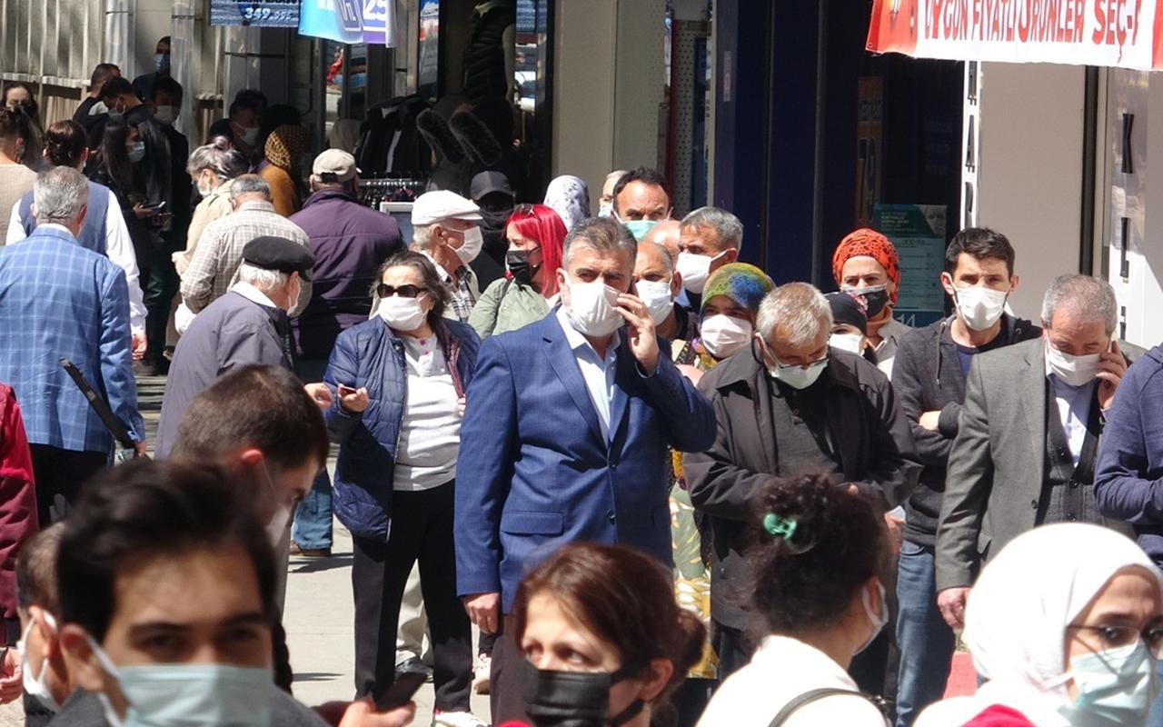 Vaka artışı yaşanan Zonguldak'ta endişelendiren yoğunluk
