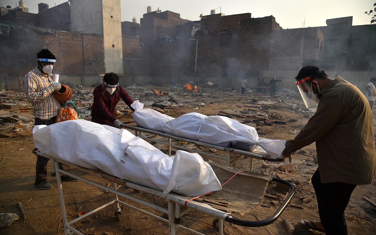 Hindistan'da can kaybında yeni rekor: 3 bin 689 ölüm
